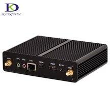 Большое содействие безвентиляторный mini pc intel celeron n2830 small desktop pc usb 3.0, LAN WiFi, 2 * HDMI, Неттоп HTPC Компьютер windows 7