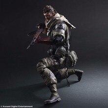 Figuras de acción de Anime, modelo de juguete de METAL con engranaje sólido de 2 piezas Kai, equipo de METAL de PVC de 280mm, Colección Anime Kai Snake