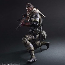 Model Toy Anime METAL GEAR SOLID 2 Play Arts Kai METAL GEAR SOLID Action Figures Playarts Kai Snake PVC 280mm Collectible