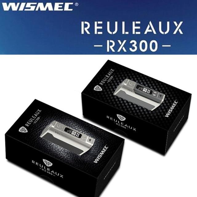 Электронная сигарета батареи e пачку сигарет Mod Жидкостью Vape Wismec Reuleaux RX300 mod