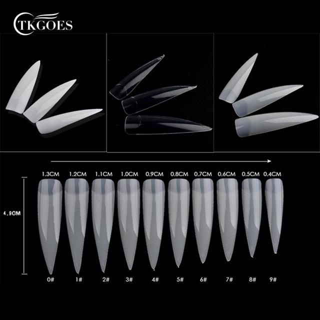Aliexpress.com : Buy TKGOES 100Pcs Transparent/White ...