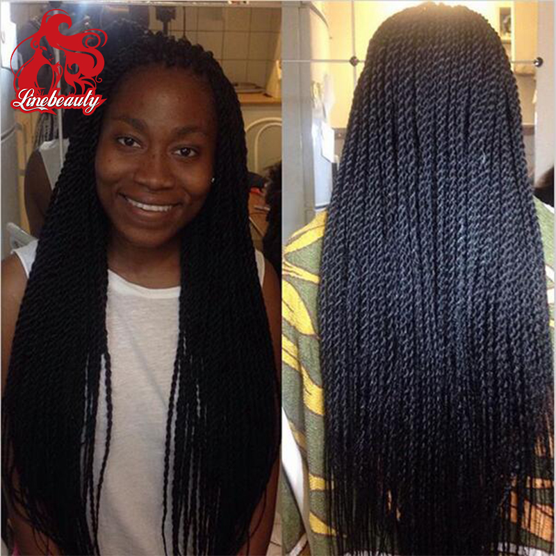 New Product Glueless Twist Braided Synthetic Lace Front