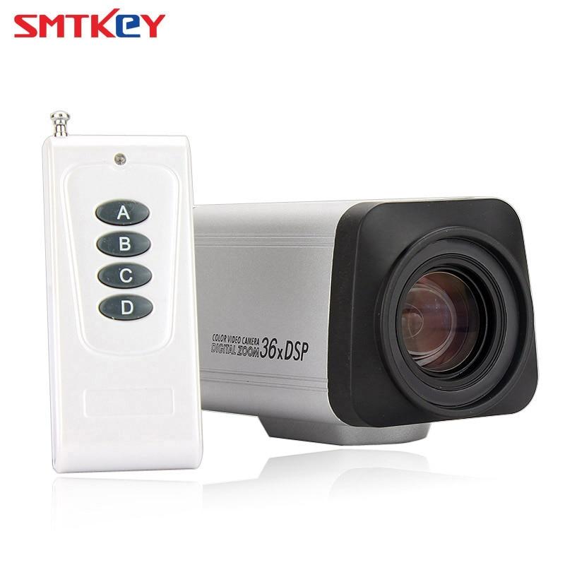 AHD Remote Control 1.3MP Auto focus Zoom AHD Box CCTV Camera 36X 960P CCTV Box AHD Camera