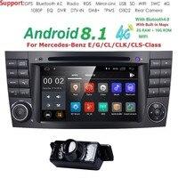7 монитор автомобиля DVD gps Навигация стерео радио для Mercedes Benz G/E класса W211 W463 W209 W219 Руль Bluetooth WI FI/4G