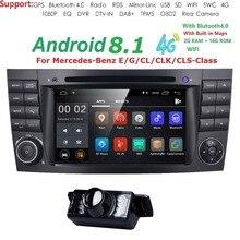 7 «автомобильный монитор, dvd gps навигации стерео радио для Mercedes Benz G/E Class W211 W463 W209 W219 на автомобильный руль, Bluetooth, WI-FI/4G