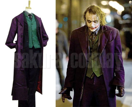 the dark knight joker full set halloween cosplay costume any size on aliexpresscom alibaba group