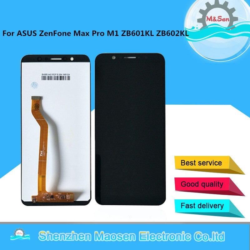 M & Sen Per 5.99 ASUS ZenFone Max Pro M1 ZB601KL ZB602KL Schermo LCD Display + Touch Panel Digitizer cornice Per ASUS ZB602KL di MontaggioM & Sen Per 5.99 ASUS ZenFone Max Pro M1 ZB601KL ZB602KL Schermo LCD Display + Touch Panel Digitizer cornice Per ASUS ZB602KL di Montaggio