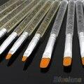 7 Pcs Professional Gel UV Escova Nail Art Pen Pintura Desenho Escova Define 4BX2