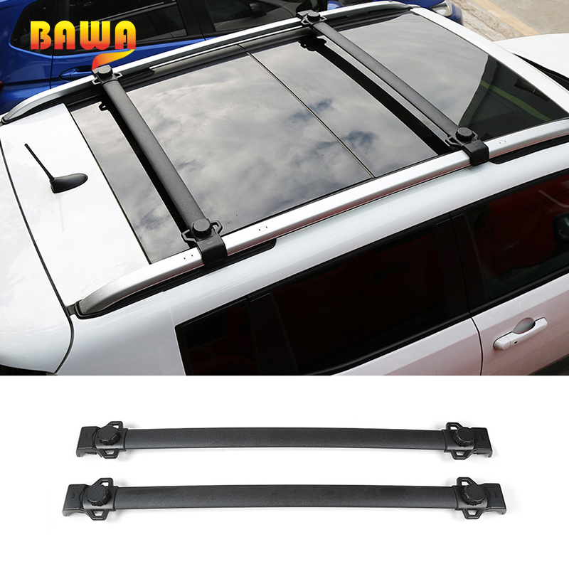 BAWA Roof Racks for Jeep Renegade 2016 Aluminum alloy Luggage Carrier Holder Accessories for Jeep Renegade