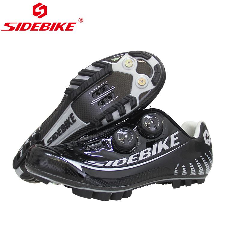 New MTB Man Professional competition level mountain bike shoes high end carbon fiber material cycling shoes