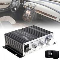 Lepy V3 Mini 20W 12V HiFi Stereo Auto Car Power Amplifier Motorcycle Boat Vehicle Amp For