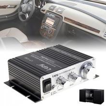 цена на Lepy V3 Mini 20W 12V HiFi Stereo Auto Car Power Amplifier Motorcycle Boat Vehicle Amp for MP3 MP4 iPod