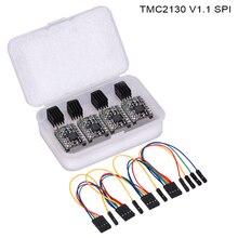 BIQU BIGTREETECH TMC2130 V1.1 SPI Драйвер шагового двигателя заменить A4988 TMC2208 TMC2130 драйвер для 3d принтер плате контроллера