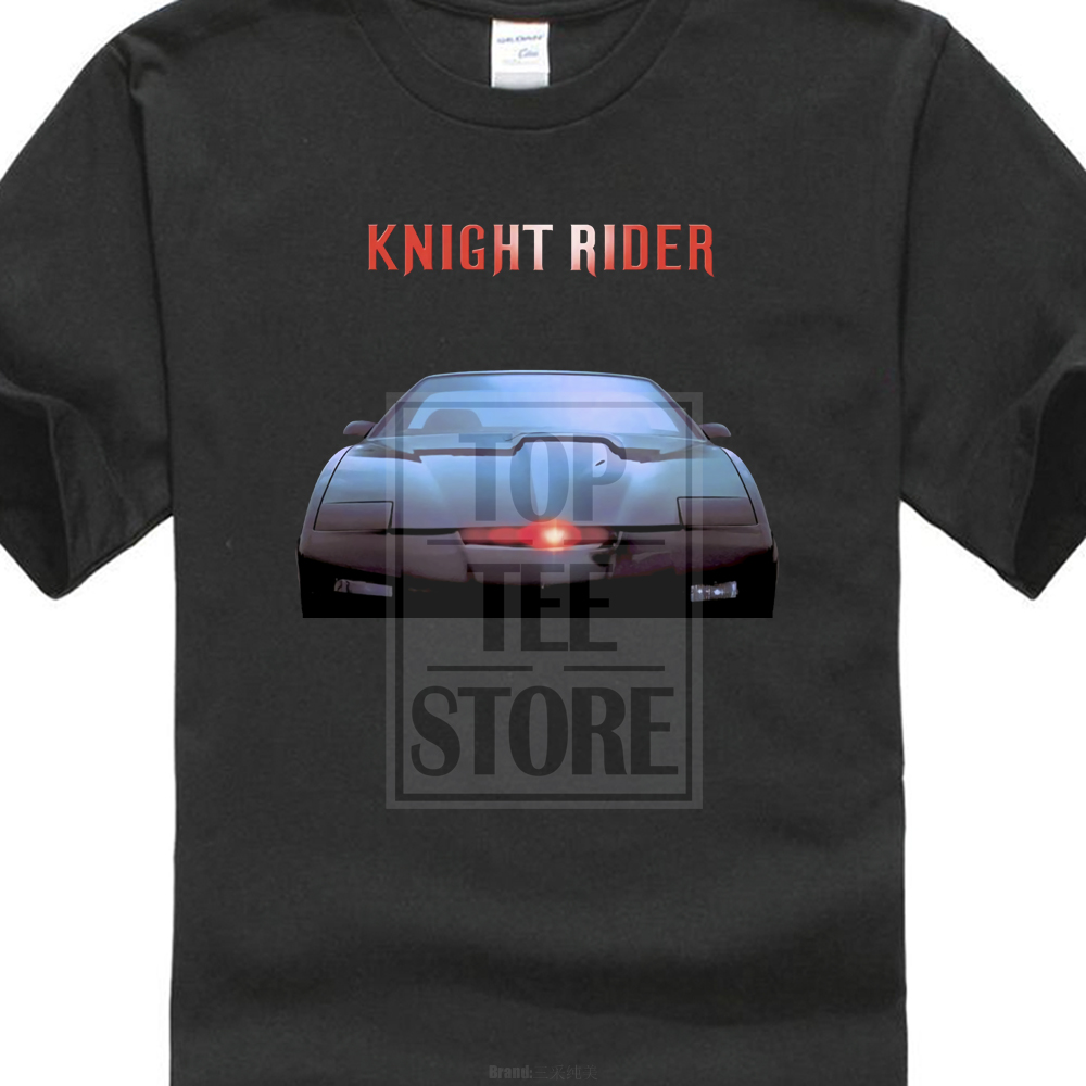 Knight Rider Movie Poster T Shirt Black All Sizes S To 4Xl