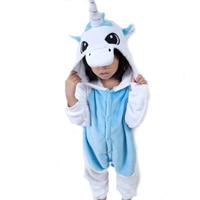 Children S Anime Unicorn Onesie Pajamas Cosplay Halloween Costumes For Kids Animal Pijamas Christmas Gift Winter