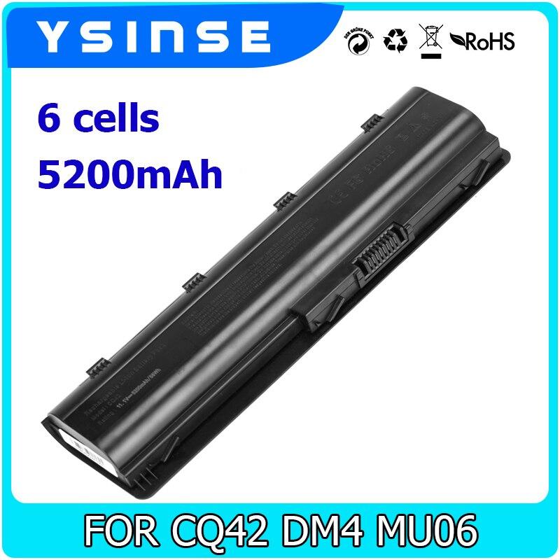 Batterie Pour Remplacement HP Pavilion Compaq MU06 CQ32 CQ42 CQ43 CQ62 G4 G6 G7 Envy 17 DV3 DV5 DV6 DV7 DM4 593553-001 593562-001