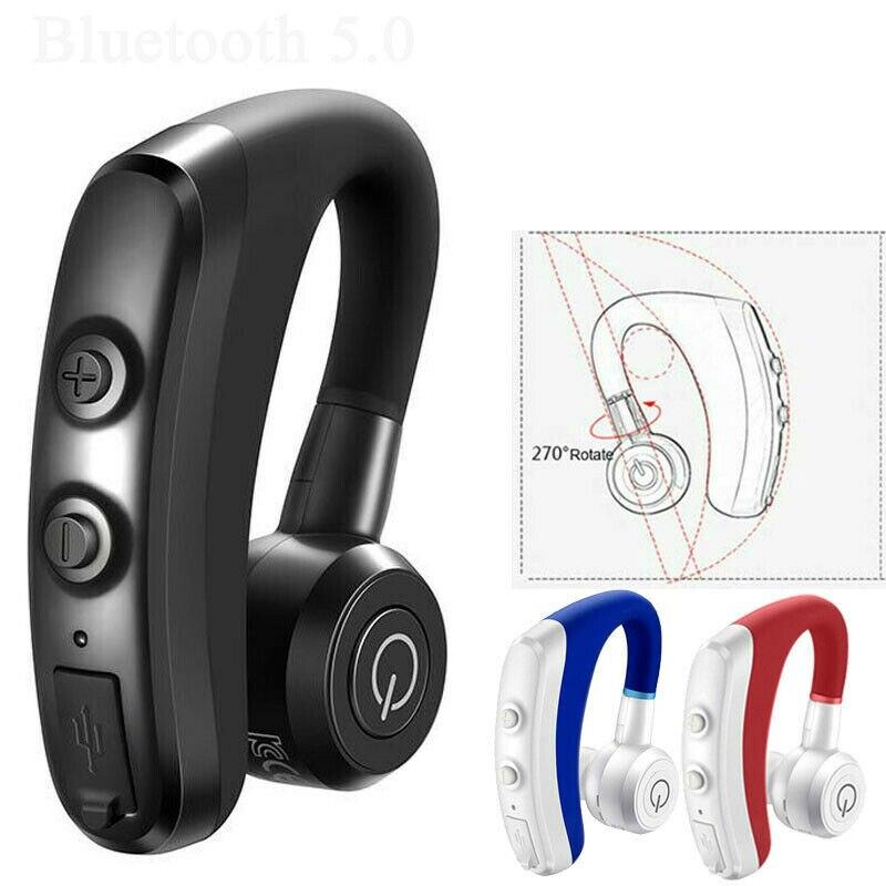 Беспроводные наушники Bluetooth 5,0 наушники 5H время разговора с микрофоном громкой связи для водителя автомобиля Наушники и гарнитуры      АлиЭкспресс