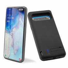 2 In 1 5G Battery Case Charging Cases For Samsung S10 Pack Extended Rechargeable Battery 6500mah Polymer Lithium Battery