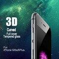 Premium 3d arc curvo vidro temperado protetor de tela de cobertura completa para a apple iphone7 7 plus 6 6 s 6 plus mobile phone temperado vidro