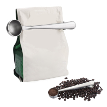 Hifuar Stainless Steel Tea Coffee Measuring Scoop With Bag C