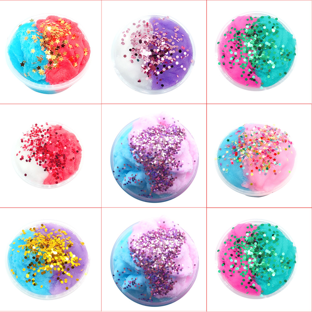 Toys & Hobbies Learning & Education Smart Egg Colorful Soft Slime Slime Scented Stress Relief Toy Sludge Toys For Children Boys Stress Relief Juguetes 2018 Funny Gift#g20