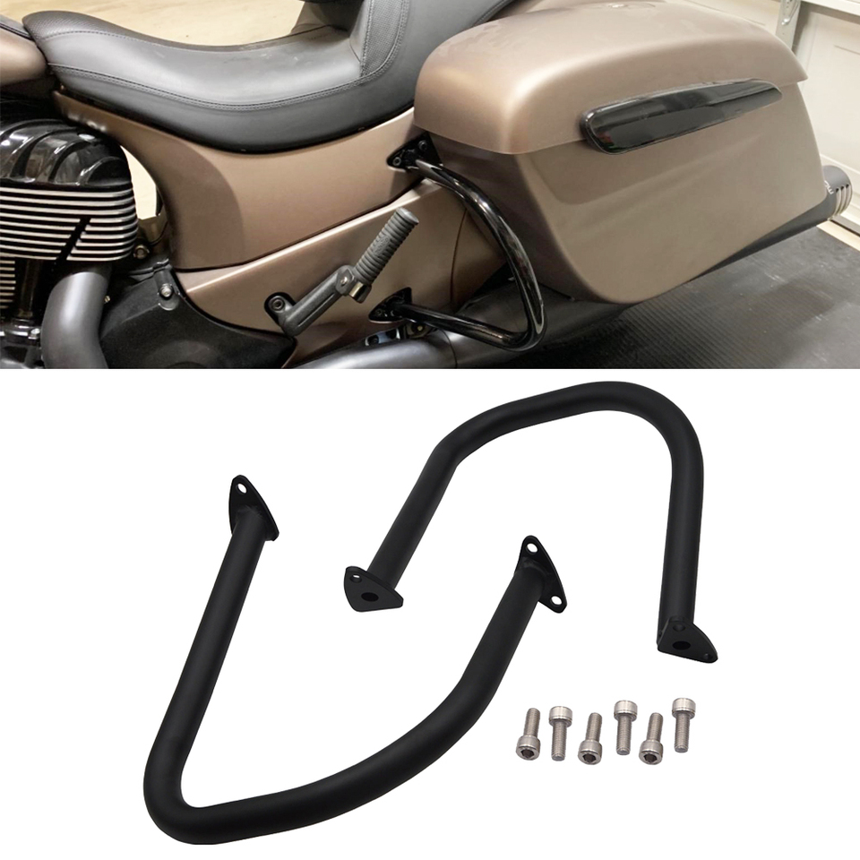 TCT-MT Rear Highway Bar Guard For Indian Chief Classic Vintage Dark Horse Chieftain 2014-2019 Elite Limited Roadmaster Springfield 2016-2019 Motorcycle