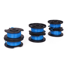6pcs Eater String Spools for Ryobi One+ model18-Volt 24V 40V Edger Trimmer Replacement Spool Line Parts Compatible with Worx