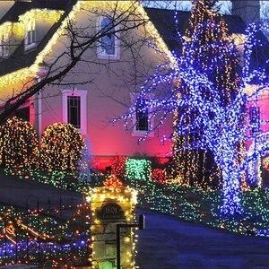 Image 3 - LED F5 50/100/200/500 Outdoor Solar Lampe LED Lichterketten Fee Urlaub Weihnachten Party Girlanden Solar Garten Wasserdicht Lichter