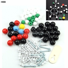 Organic Chemistry Scientific Atom Molecular Models Teach Set Kit High Quality T026