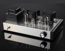 2017 Lastest Music Hall 6J1+6P1 Vacuum Tube Amplifier Stereo Class A Single-ended Power Amp