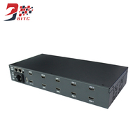 SZBITC 9 Channel Video Wall Processor 2x2 2x3 3x3 2x4 4x2 1080P HDMI USB RS232 Compatible IR Controller