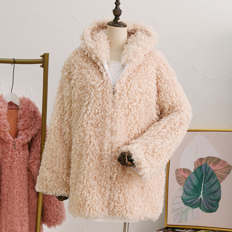 e34fc8d1a19 Fluffy Mongolia Sheep Faux Fur Coat Women Shaggy Long Curly Hair Fake Fur  Jacket 2018 Women Winter Jackets Coats Plus size 4XL USD 28.12-33.94 piece