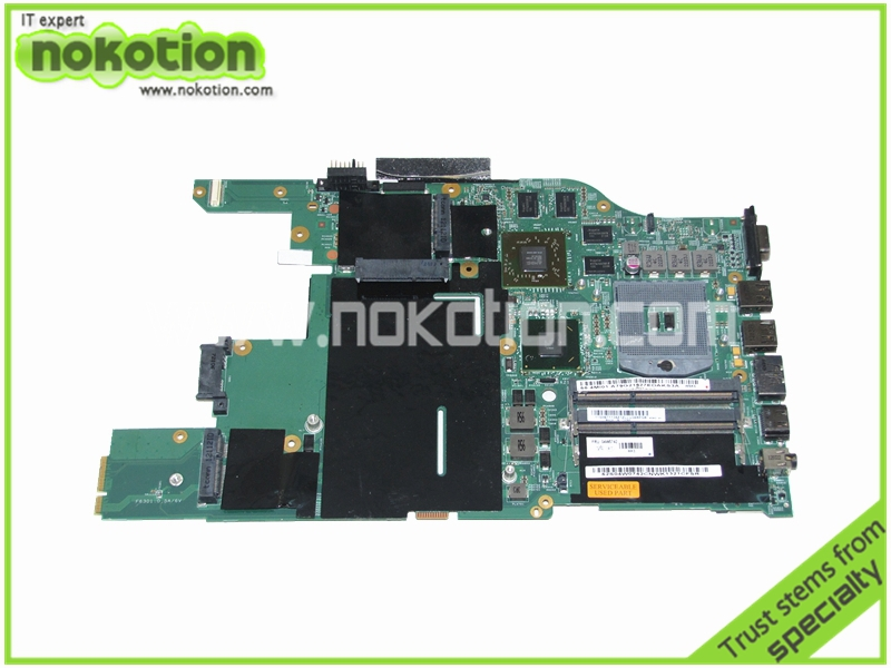 48.4MI04.021 04W0742 laptop motherboard for lenovo thinkpad E520 intel HM65 ATI HD6630 DDR3 Mainboard Motherboard