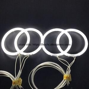 Image 5 - Hotech Kit yeux dange Halo blanc, 4 pièces, pour BMW E30 E32 E34 120 1984, phare Halo 1990mm CCFL