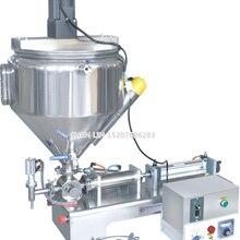 Машина для наполнения, наполнитель для упаковки пасты, машина для наполнения крема, 1000 мл, SS304, нержавеющая сталь, 30 л бункер, нагрев и смешивание