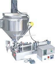 Maszyny do napełniania, makarony rzeczy pakowania wypełniacza, krem maszyny do napełniania, 1000 ml, SS304, stal, 30L leja, ogrzewanie i mieszania