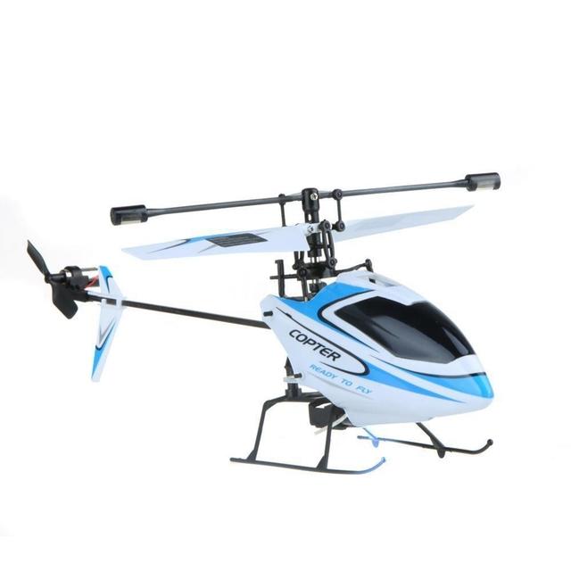 Original wltoys v911 2.4g 4ch escogen la lámina rc helicóptero no mando a distancia del reino unido