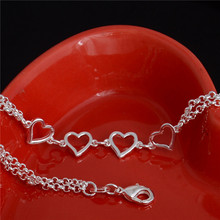 Anklet with Hearts