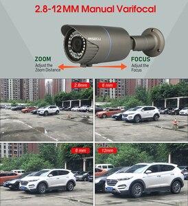 Image 2 - MISECU H.265 16CH POE 48V NVR комплект с 16 шт. 4MP POE камерой 2,8 12 мм варифокальный объектив с 4 ТБ P2P системой видеонаблюдения