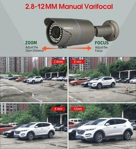 Image 2 - MISECU H.265 16CH POE 48V NVR kiti ile 16 adet 4MP POE kamera 2.8 12mm değişken odaklı Lens 4TB P2P Video gözetim sistemi