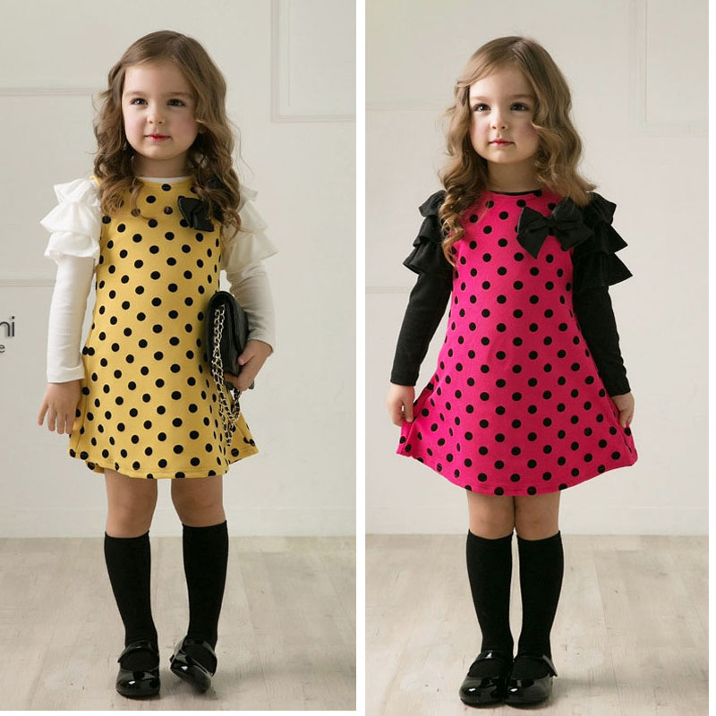 Girls dresses baby kids clothes 2017 spring autumn children clothing long-sleeve cotton girls princess dress 2 3 4 5 6 7 Years girls dress kids clothing lovely lolita dress for girls teens princess dresses autumn spring cute children clothes new 70c1004