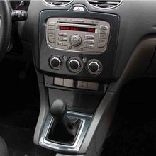 For Ford focus 2 MK2.5 2009-2011 Carbon Fiber style Console gear car accessories Car-Styling