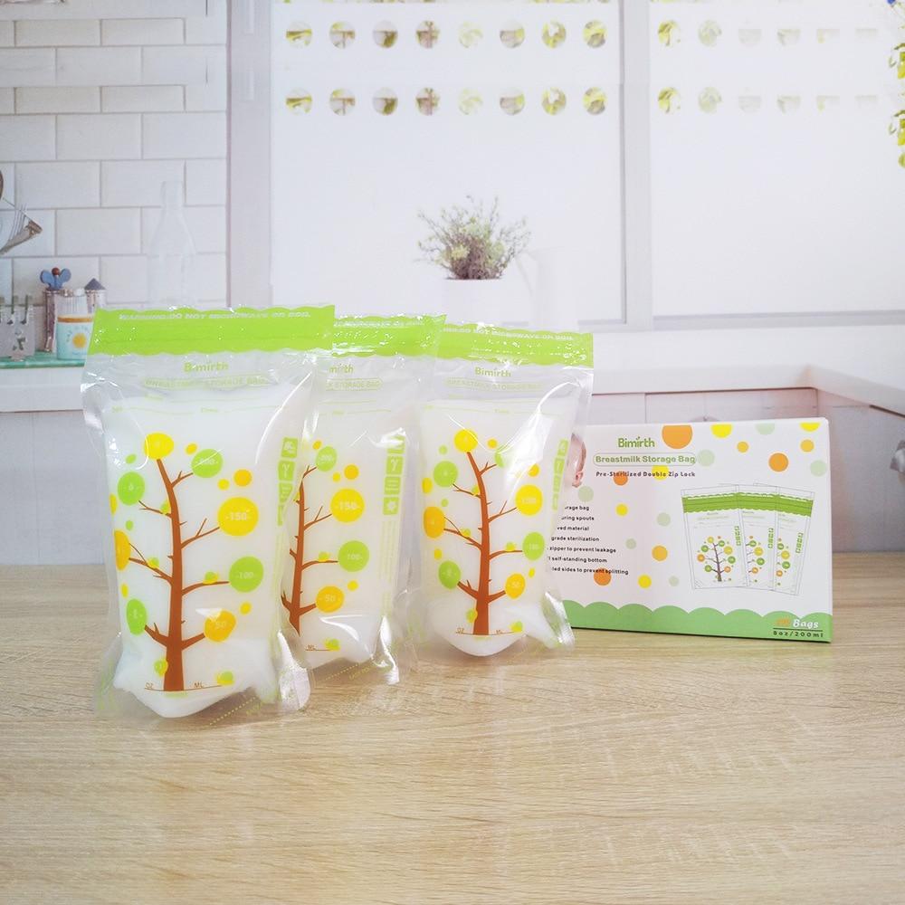 200ml * 112Piece Skladištenje hrane za bebe BPA Besplatne vrećice - Hraniti - Foto 6