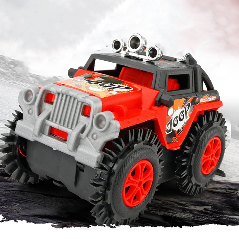 Electric Off-road Climbing Water Proof Remote control Car With Light Truck Toys For Boy Kid electri Off-road ClimbChildren Gift