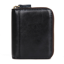 J.M.D Genuine Leather Wallet MAN Male Small Portomonee Vallet With Coin Purse Pockets Rfid Credit Card Holder R-8438 недорого