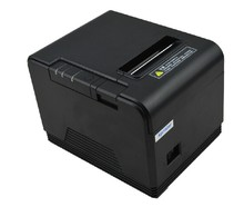 High quality original Auto-cutter 80mm Thermal Receipt Printer USB/Lan  Pos Printer for Hotel/Kitchen/Restaurant/Retail