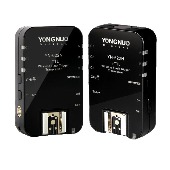 Yongnuo YN-622N YN 622 Wireless I TTL ITTL HSS 1/8000S Flash Trigger 2 Transceivers for Nikon DSLR yongnuo yn 622n yn 622n yn622n rx single wireless ittl flash trigger for nikon camera speedlite