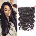 7A Grade Brazilian Virgin Hair 13X6 Lace Frontal Closure with Baby Hair Body Wave Ear To Ear Lace Frontal Closure Free Shipping