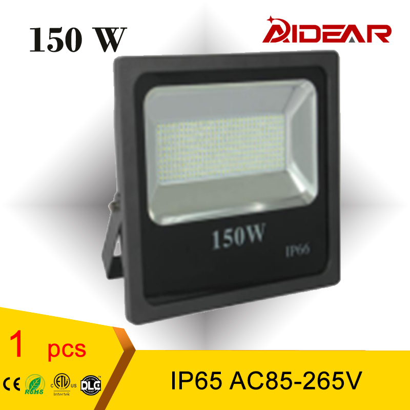 LED Flood Light IP65 150W 85-265V FloodLight Spotlight Outdoor Wall Lamp Projector WaterProof  free shipping free shipping led flood outdoor floodlight 10w 20w 30w pir led flood light with motion sensor spotlight waterproof ac85 265v