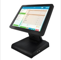 15 inch POS pos tablet pc Windows/android 10 all in one capacitive